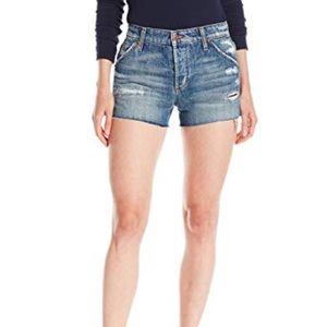 Joe's Jeans Collector Wasteland Shorts High Rise